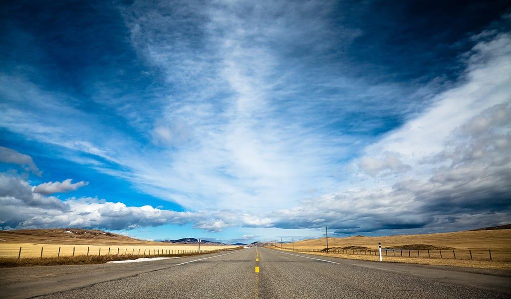 When the Road Met the Sky