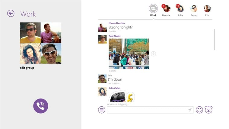 Viber pour Windows 10