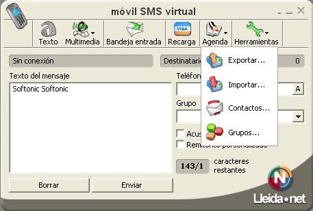 Móvil SMS virtual