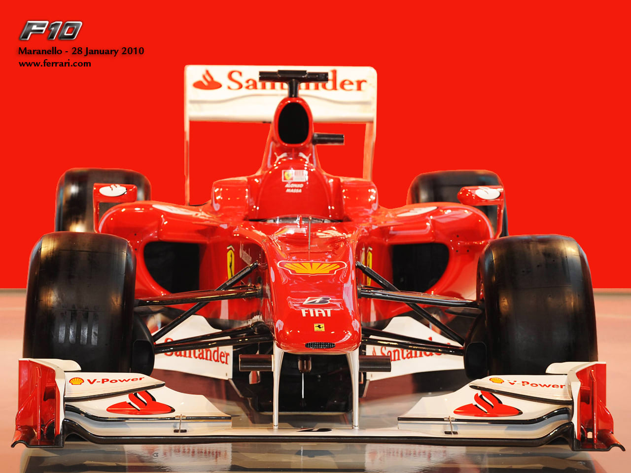 Ferrari F10 Presentation Wallpaper
