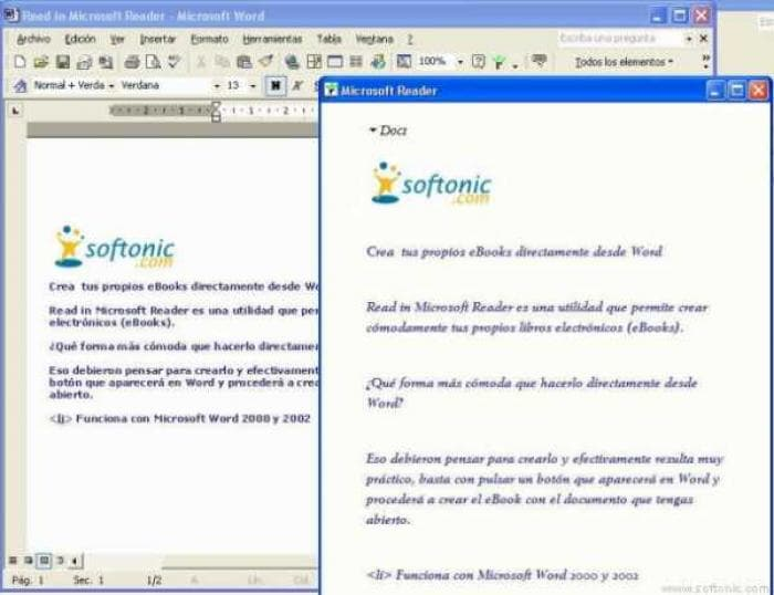 Read in Microsoft Reader