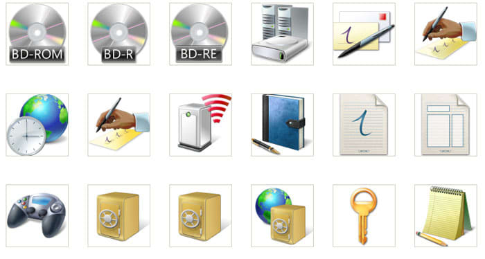 Windows 7 PDC Icons