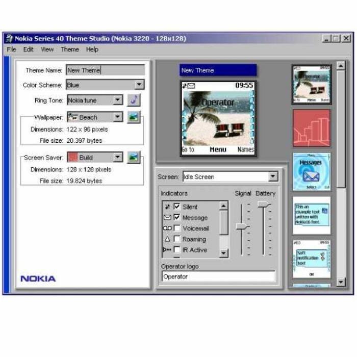 Nokia Series 40 Theme Studio