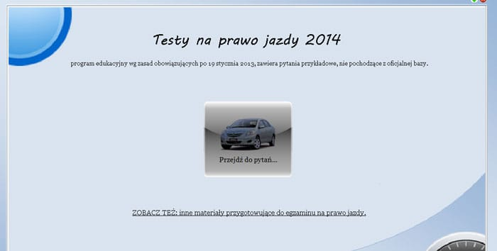 Testy na Prawo Jazdy Kategorii B