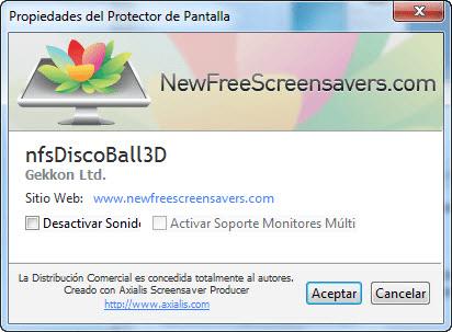 nfsDiscoBall3D Screensaver