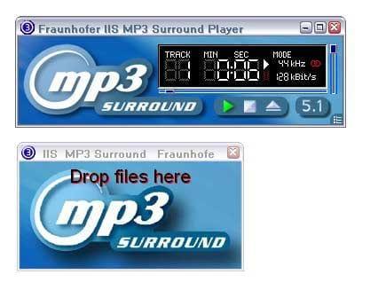Fraunhofer MP3 Surround