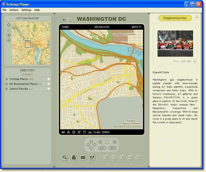 Schmap Washington DC Guide