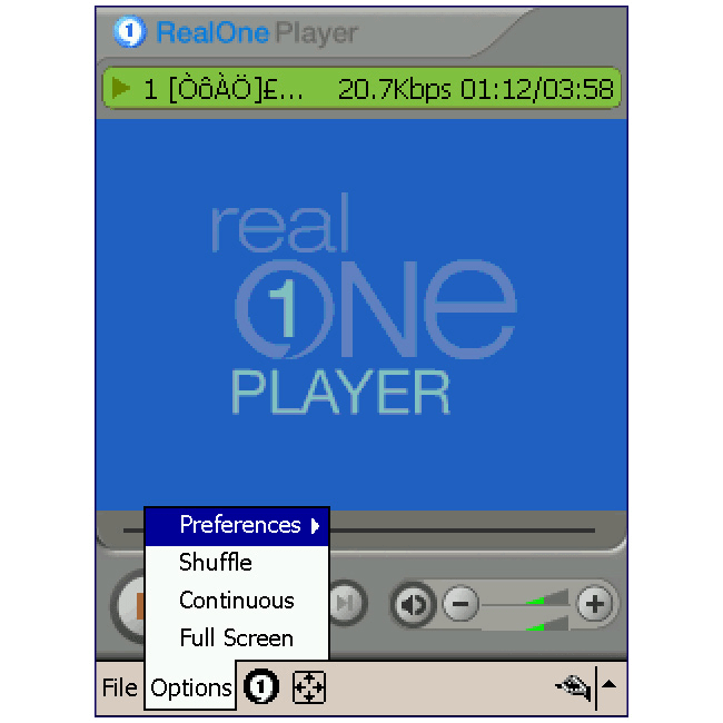 RealPlayer pour Mobile