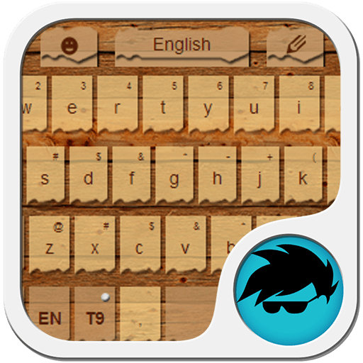 Wood Keyboard Theme