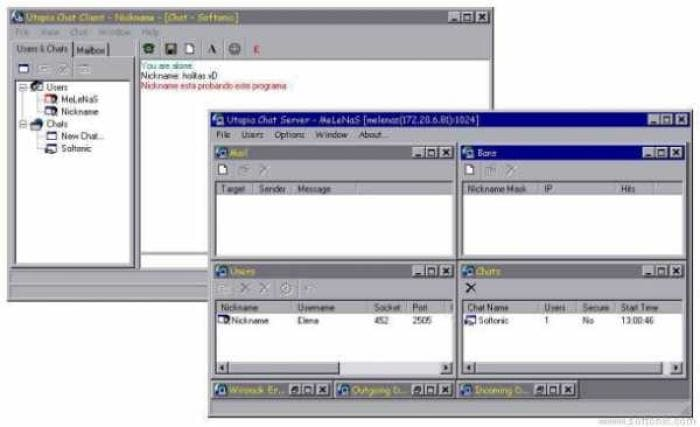 Utopia Chat System Server