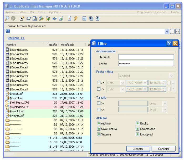 EF Duplicate Files Manager
