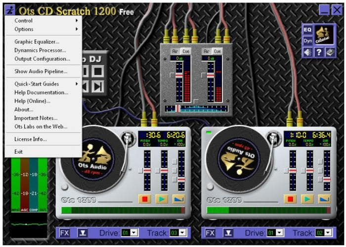 Ots CD Scratch 1200