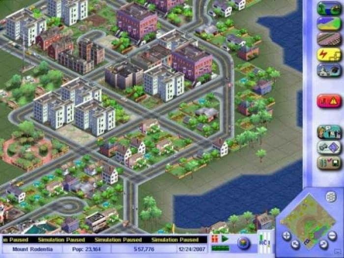 Sim City 3000 DEMO