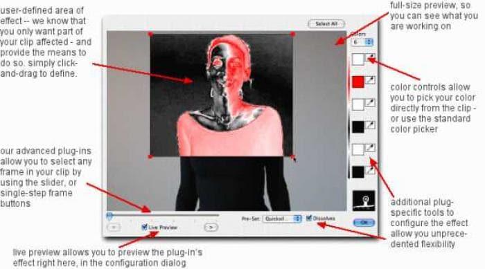 iMovie big bad box o'effects