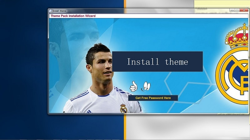 Real Madrid FC theme