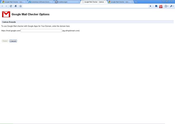 Google Mail-Checker