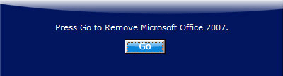 Remove Office 2007
