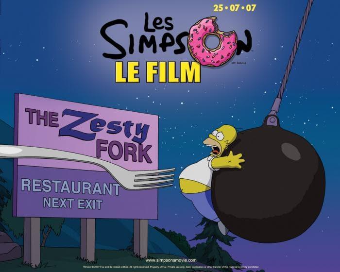 Screensaver Simpson
