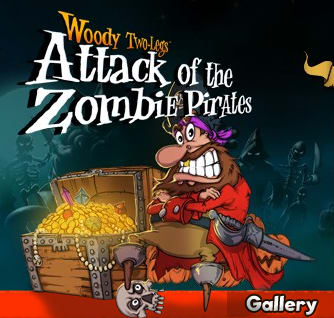 Woody Two-Legs - Attack of the zombie pirates