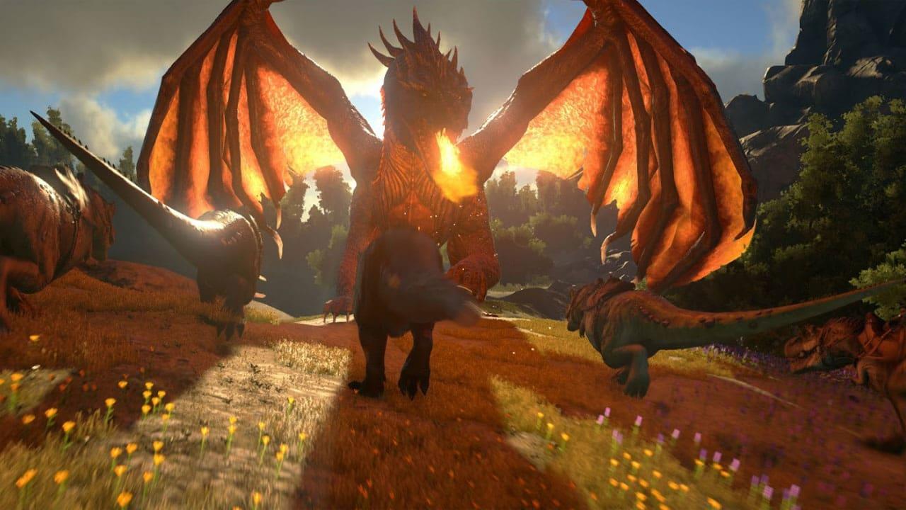 Dragon Mod for ARK Survival Evolved