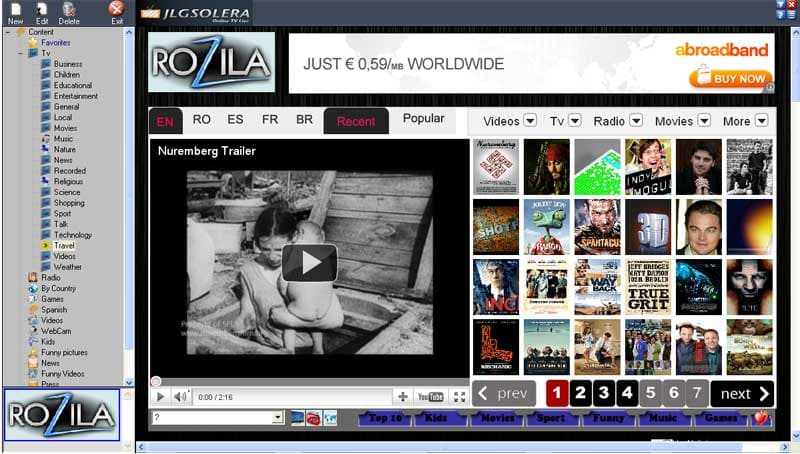 Online TV Free Edition