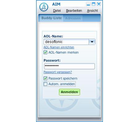 AOL Instant Messenger Triton