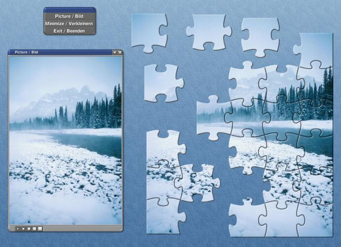 Winter Webetiser Puzzle Package