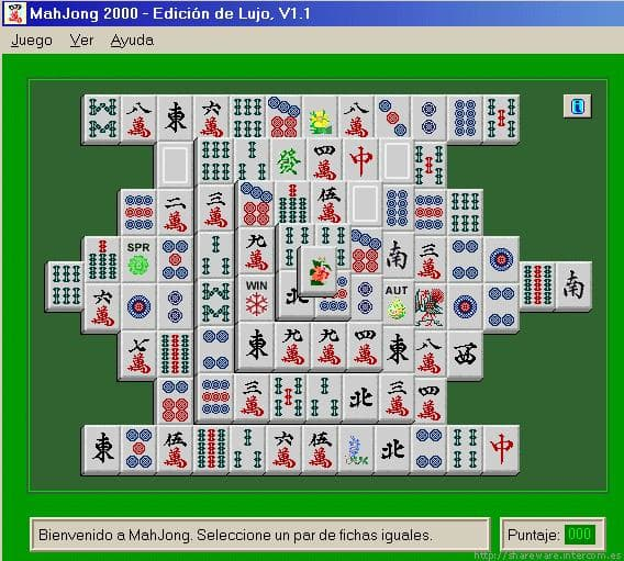 MahJong 2000 - Luxury Edition