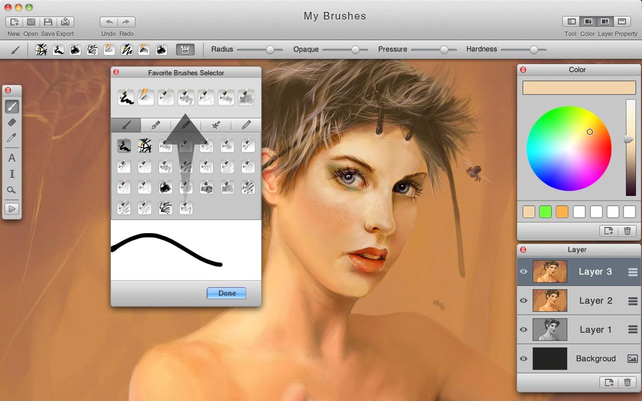 MyBrushes for Mac