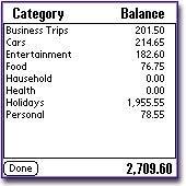MoneyStalker Expense