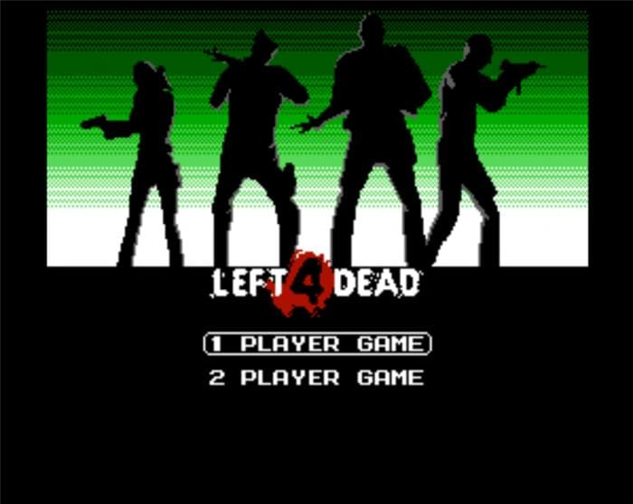 Pixel Force: Left 4 Dead