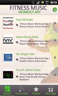 Fitness Musica App