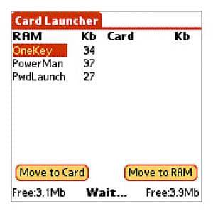 Card Launcher