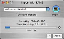 iTunes LAME Encoder