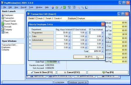 PayWindow 2007