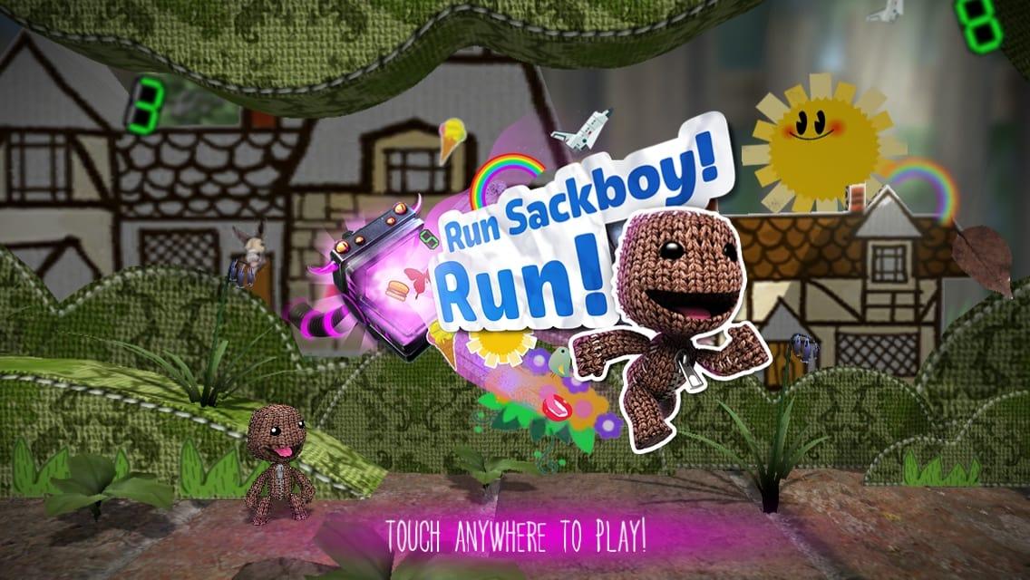 Run Sackboy! Run!