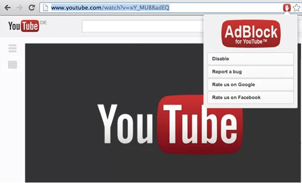 Adblock for Youtube