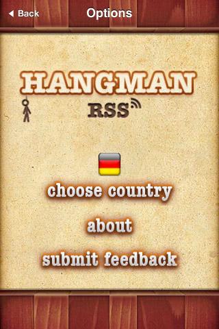 Hangman RSS