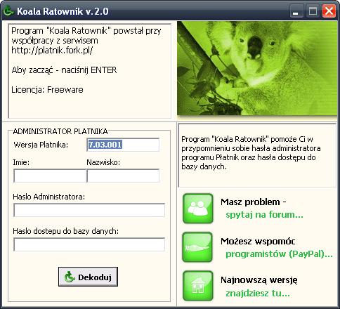 Koala Ratownik
