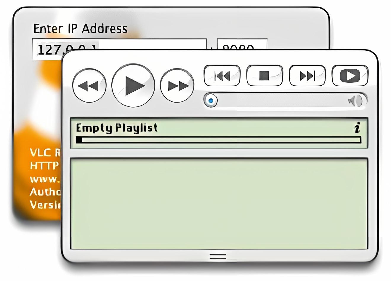 VLC Remote Interface Widget