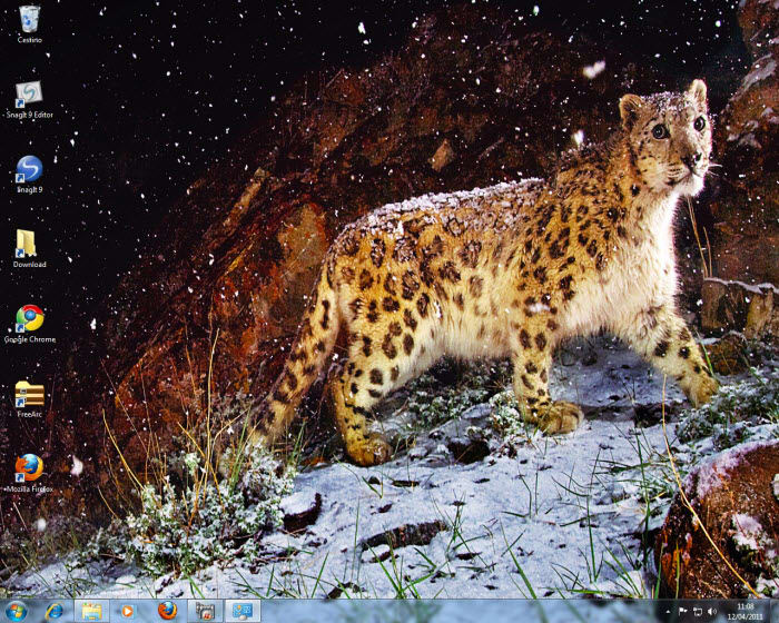 Mac OS X Snow Leopard theme dla Windows 7