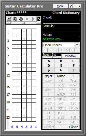 Guitar Calculator