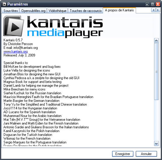 Kantaris Media Player Portable