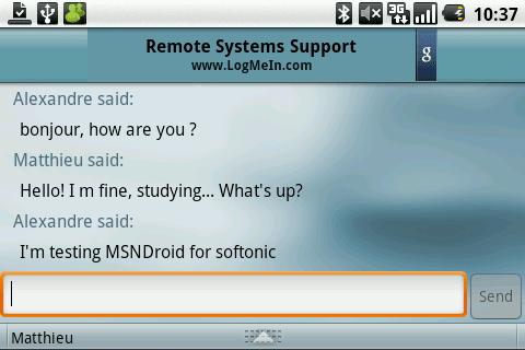 MSN Droid