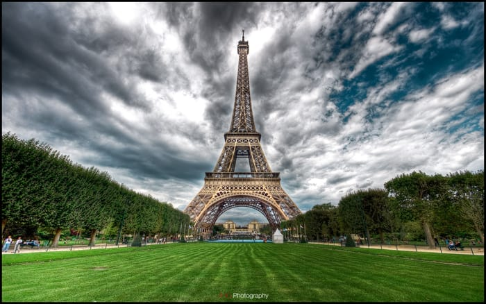 Tapeta Paris Eiffel Tower