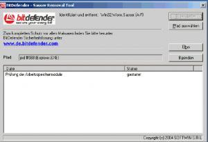 Bitdefender Removal Tool Sasser