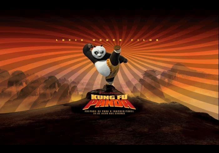 Kung Fu Panda Screensaver