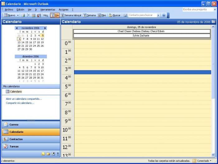 Outlook NameDays
