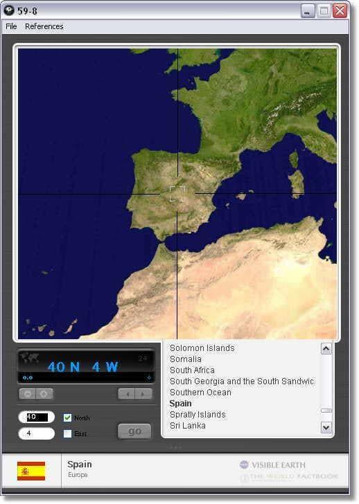 59-8 Interactive World Map