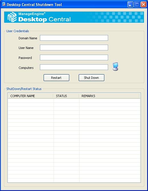 Desktop Central Free Windows Tools